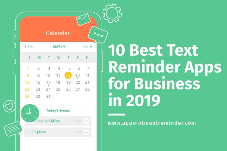 10 Best Text Reminder Apps for Business in 2019